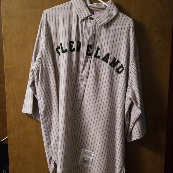a19cc97c3e2 Mitchell & Ness Shirts | Mitchell Ness 1912 Cleveland Indians Jersey ...